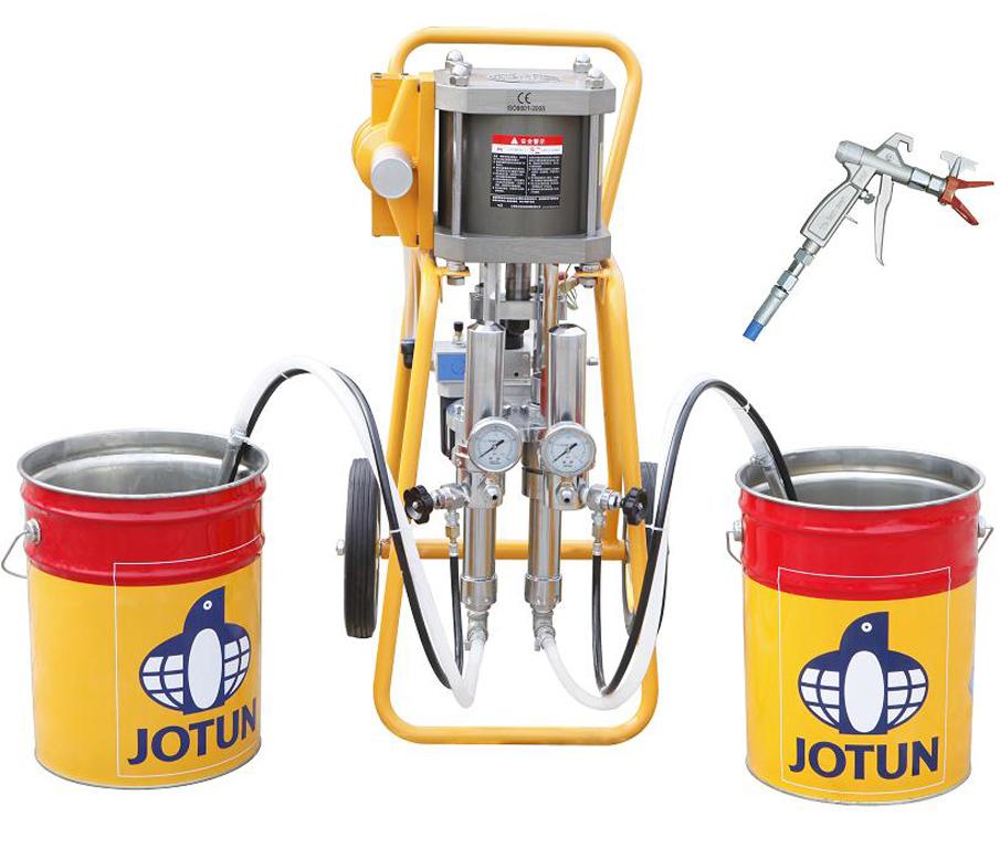 Оборудование для напыления жидкой резины DP-4336