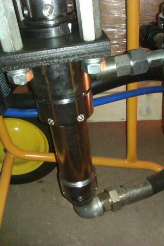 Окрасочное оборудование с пневмоприводом DP-6391B