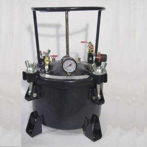 Нагнетательный бак для краски DP-6411h (на 10 литров) с ручной мешалкой