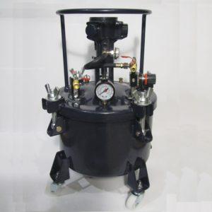 Красконагнетательный бак DP-6414a (на 40 литров) с автоматической мешалкой